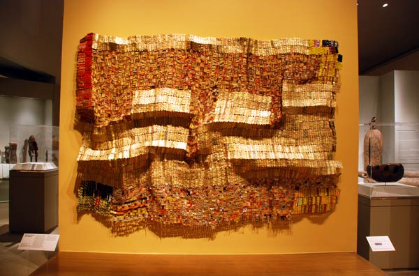 Between Earth and Heaven, by El Anatsui