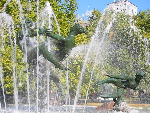 London Fountain, Hyde Park?