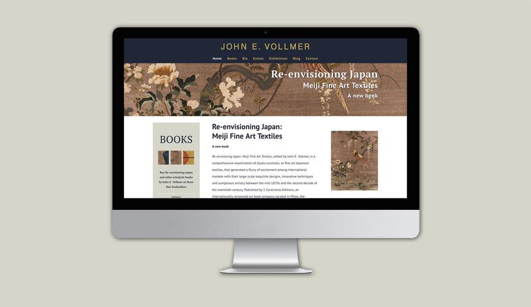 John E Vollmer homepage thumbnail