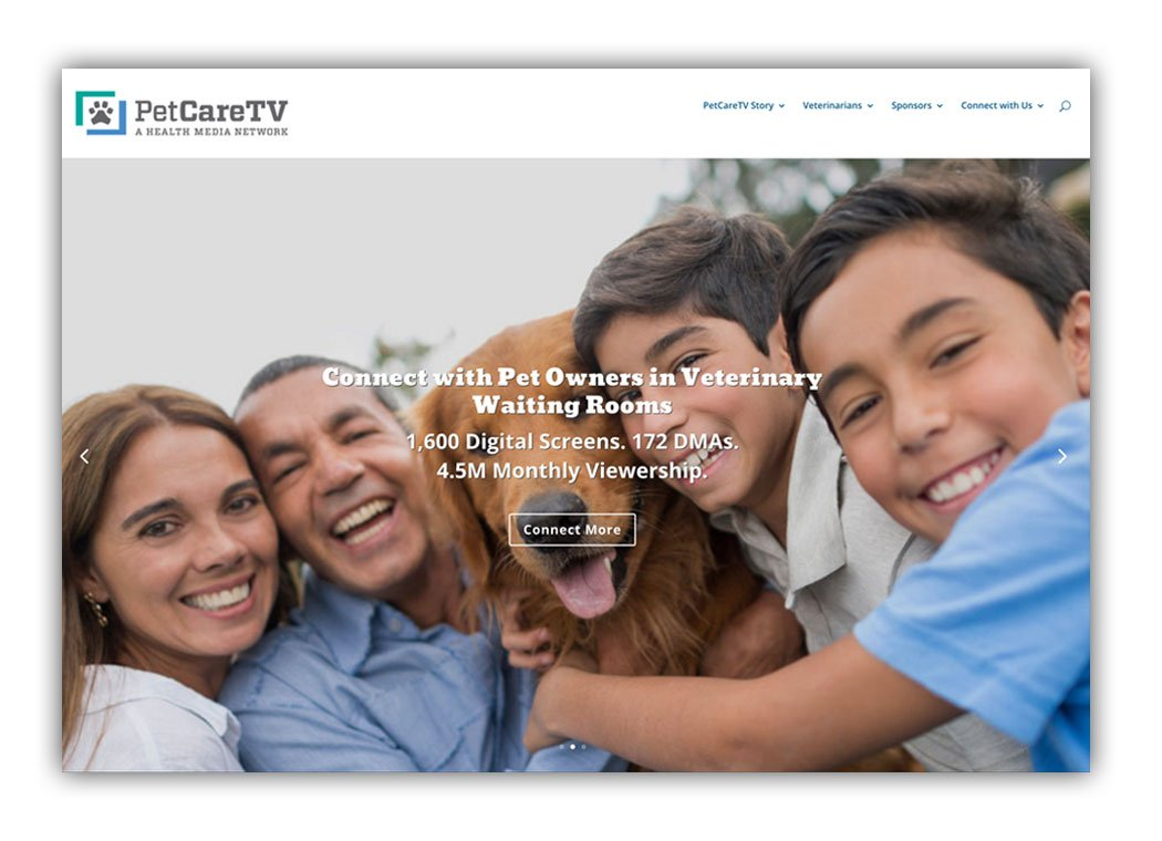 PetCareTV-homepage